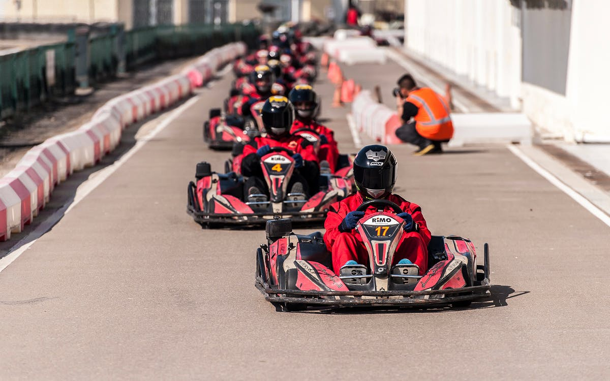 go kart at al wasal sports club-1