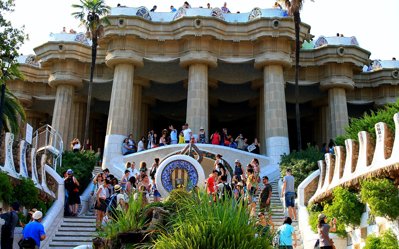 park guell guided tour with no wait entrance-5