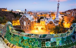 1 day in arcelona-park guell