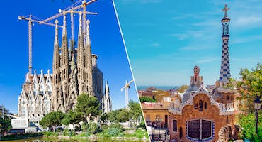 Guided Tour of Sagrada Familia and Park Güell with Fast Track Access