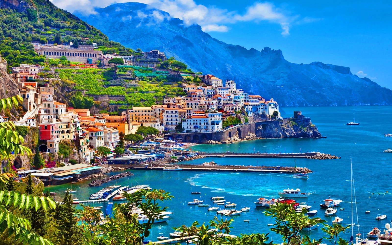 unesco jewels: one-day tour of positano and amalfi coast by high-speed train-1