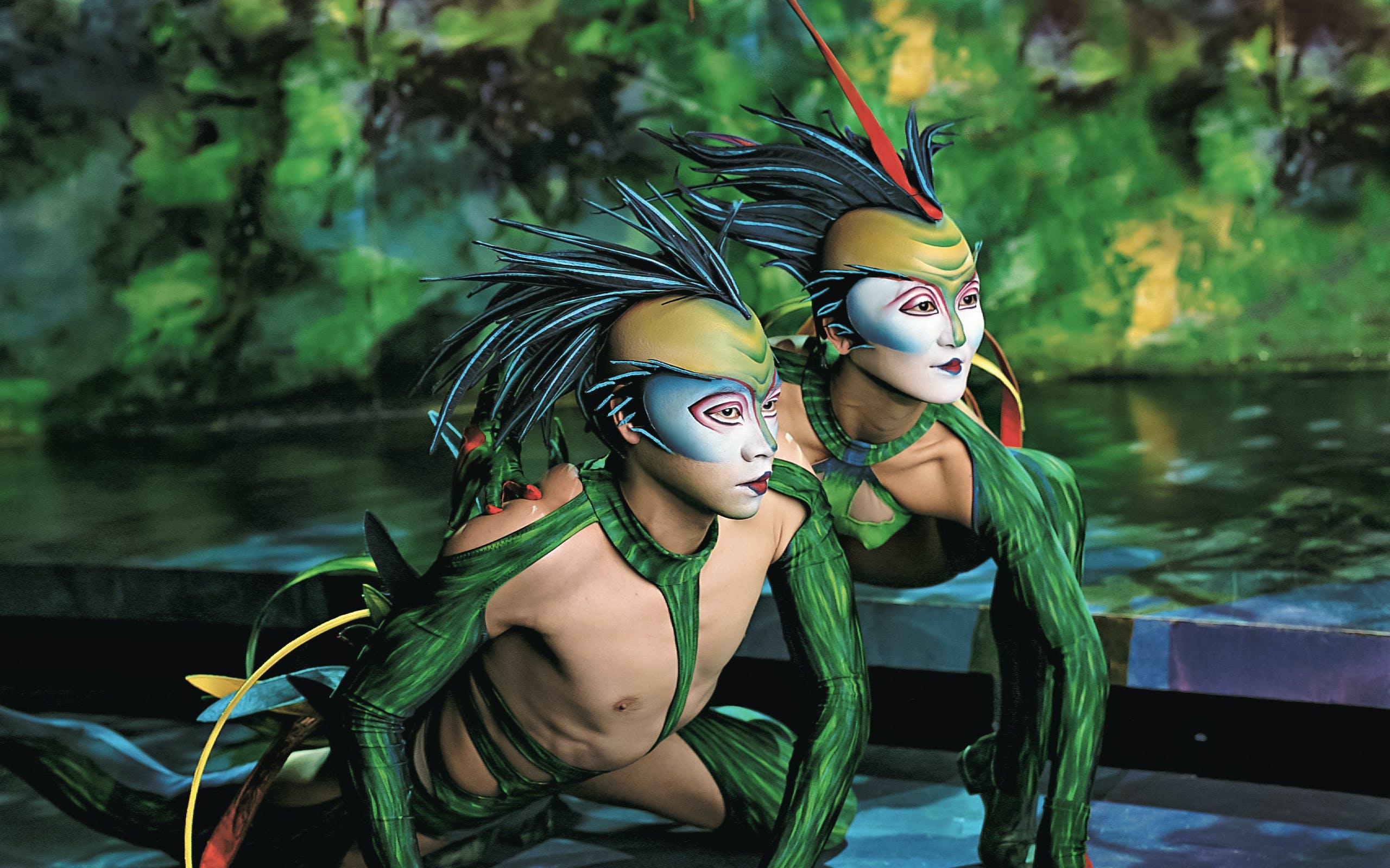 Cirque du Soleil Shows Vegas