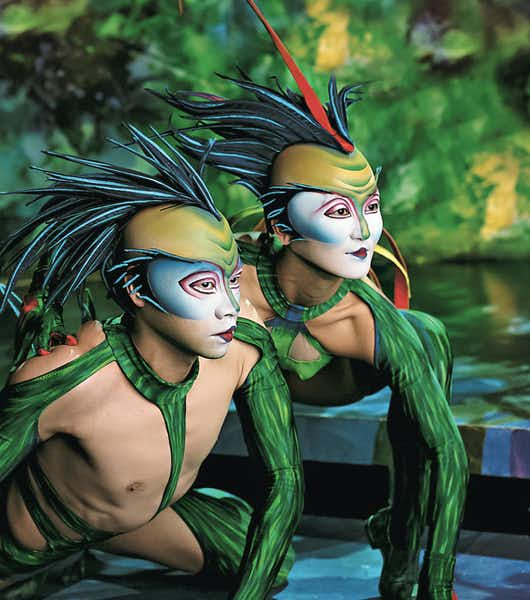 Best Vegas Shows for kids and families - Mystere Cirque Du Soleil