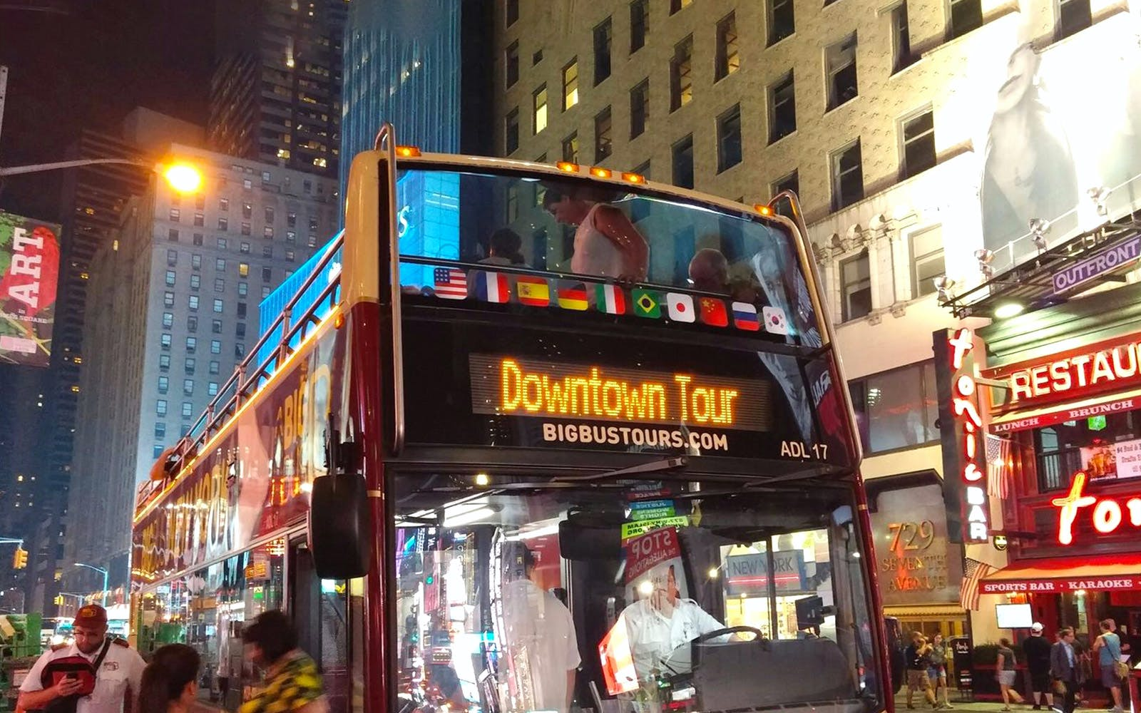 Hop On / Hop Off Tour of Downtown Manhattan