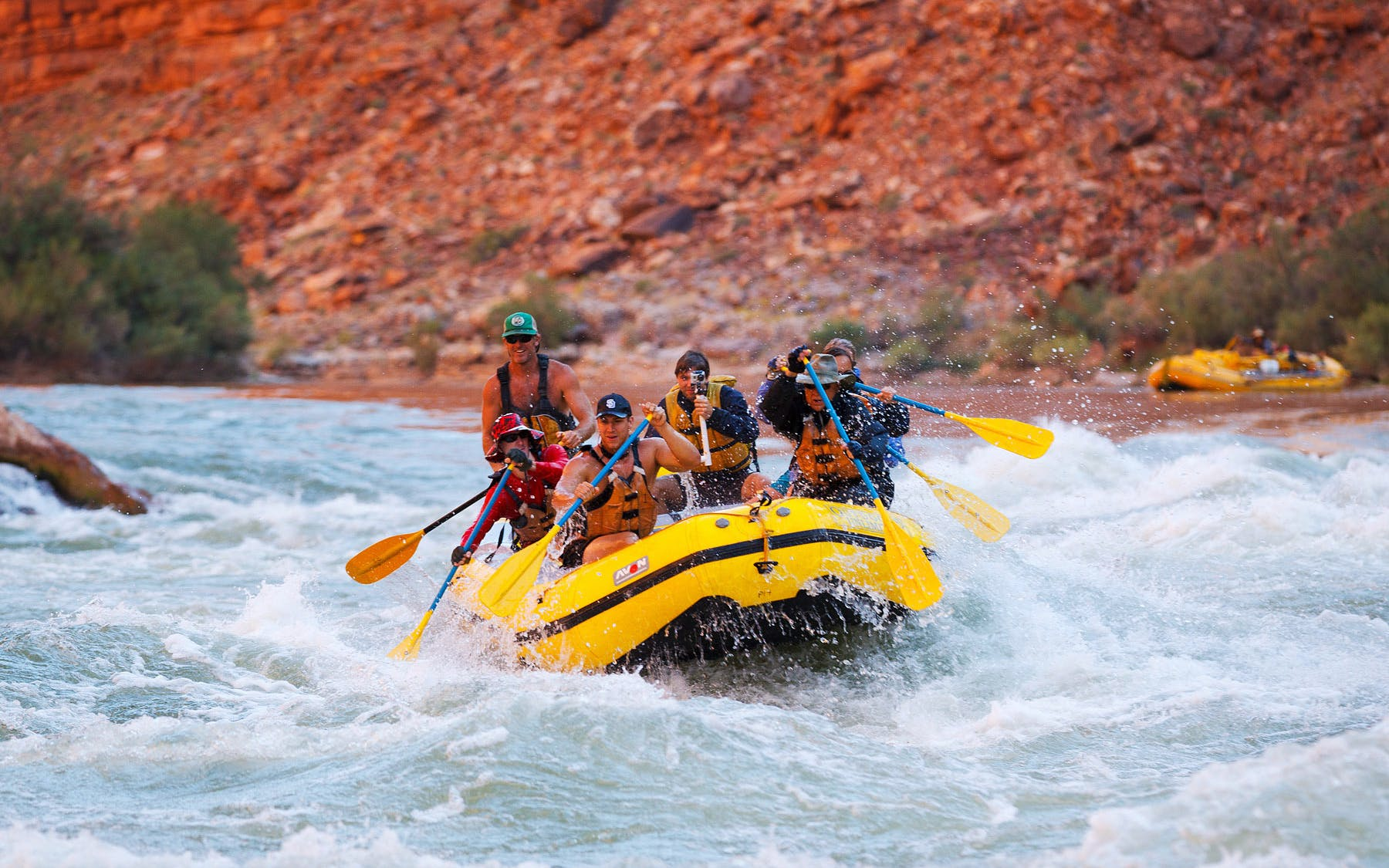 Vegas to GC West Rim Helicopter Tour with Black Canyon River Rafting