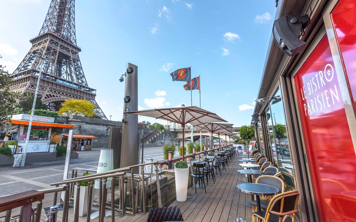 lunch at le bistro parisien restaurant with optional seine river cruise-1
