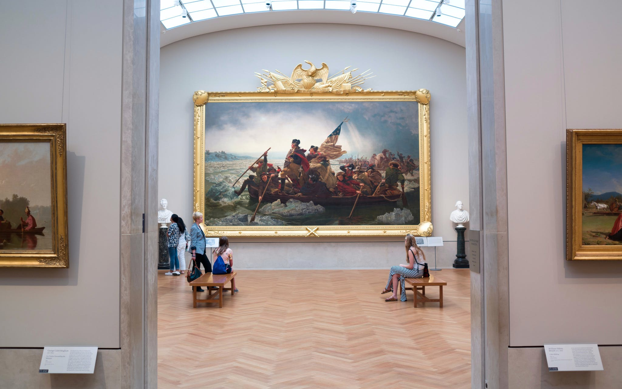 Washington Crossing the Delaware is an icon of American visual culture and one of the most beloved objects in The Metropolitan Museum of Art. Emanuel Leutze, Washington Crossing the Delaware, , The Metropolitan Museum of Art, Gift of John Stewart Kennedy,