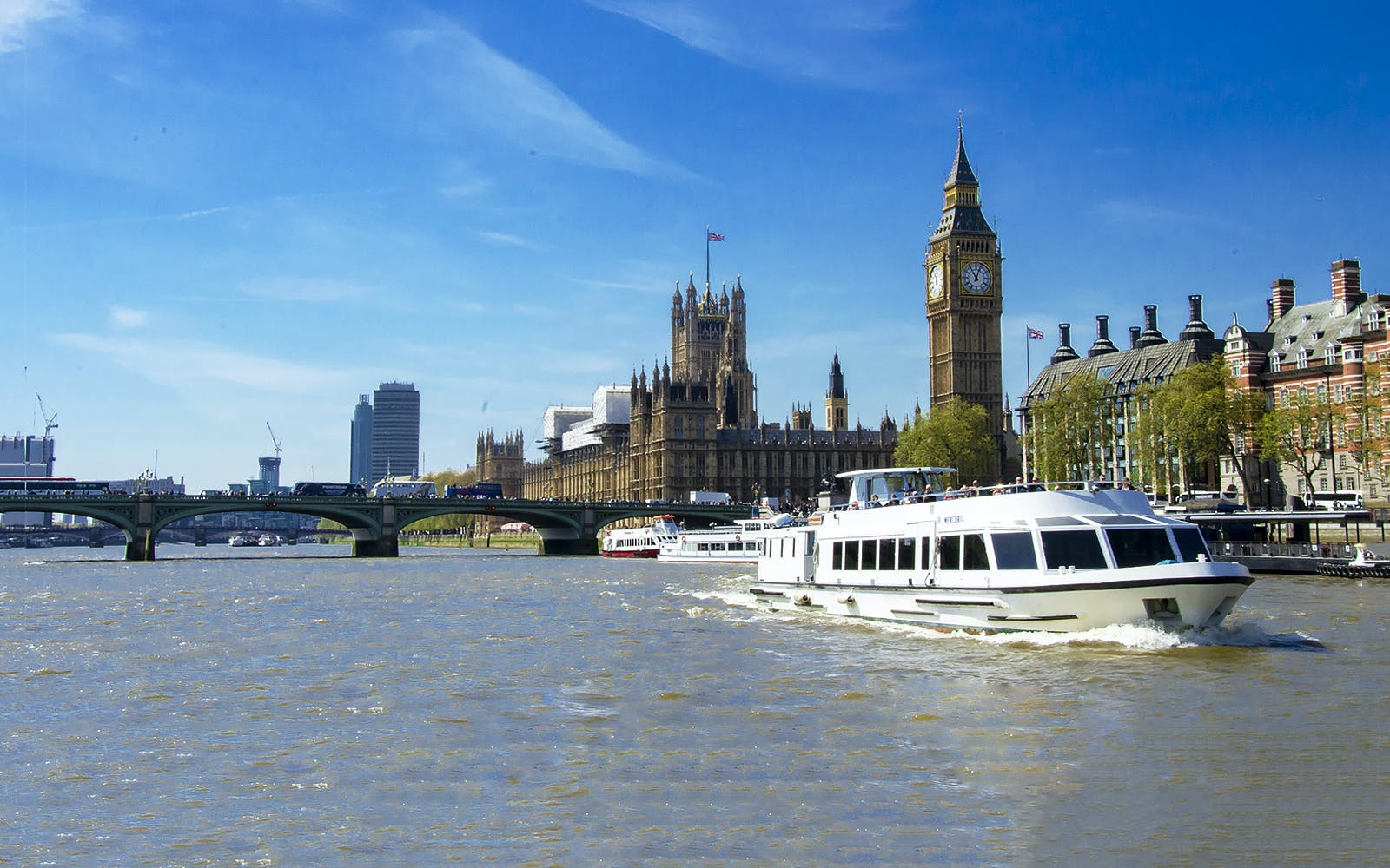 vintage bus tour of london, private river thames boat cruise & westminster abbey-3