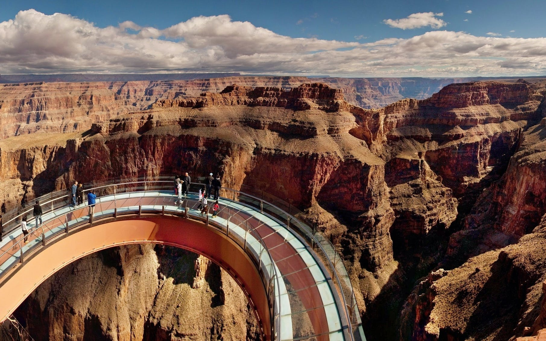 vegas to west rim airplane tour & heli ride to the bottom with optional skywalk-1