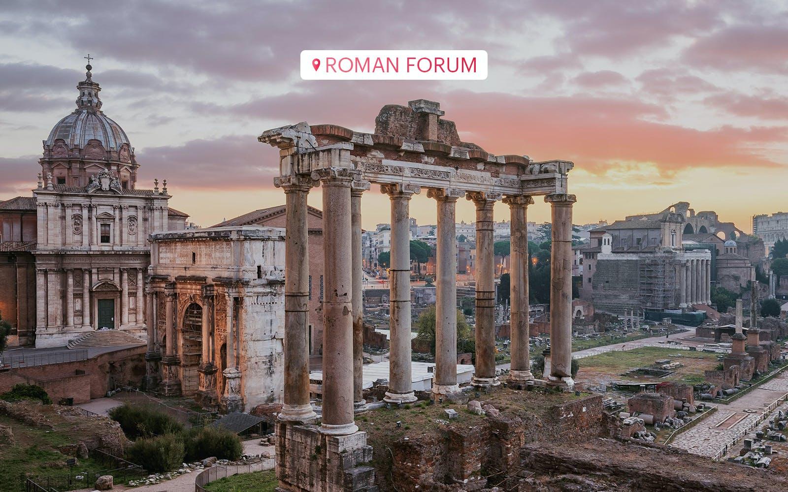 Roman Forum Palatine Hill