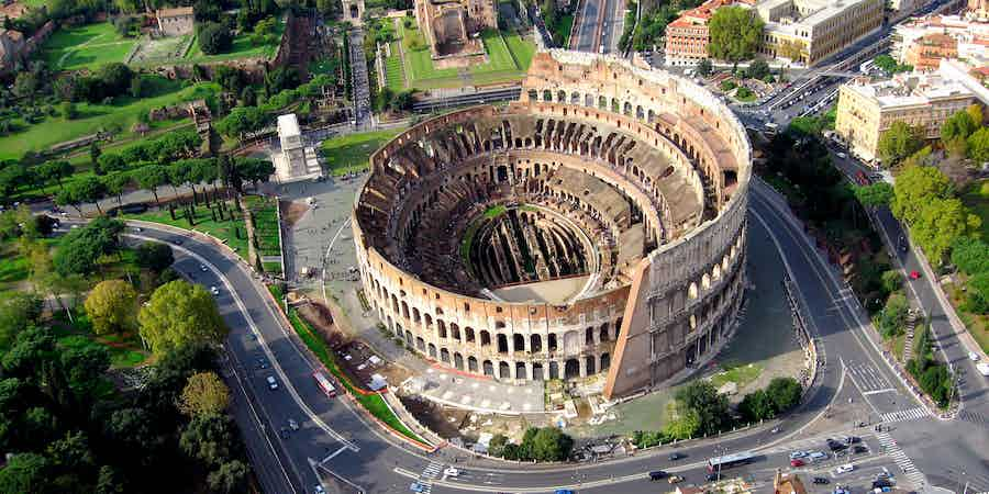 Rome in June - Colosseum