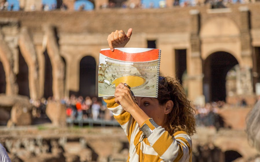 priority entrance tickets to colosseum, roman forum and palatine hill-0