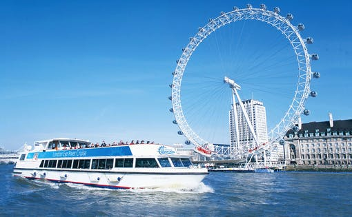London Eye Tickets and 24 Hours Thames River Cruise Combo