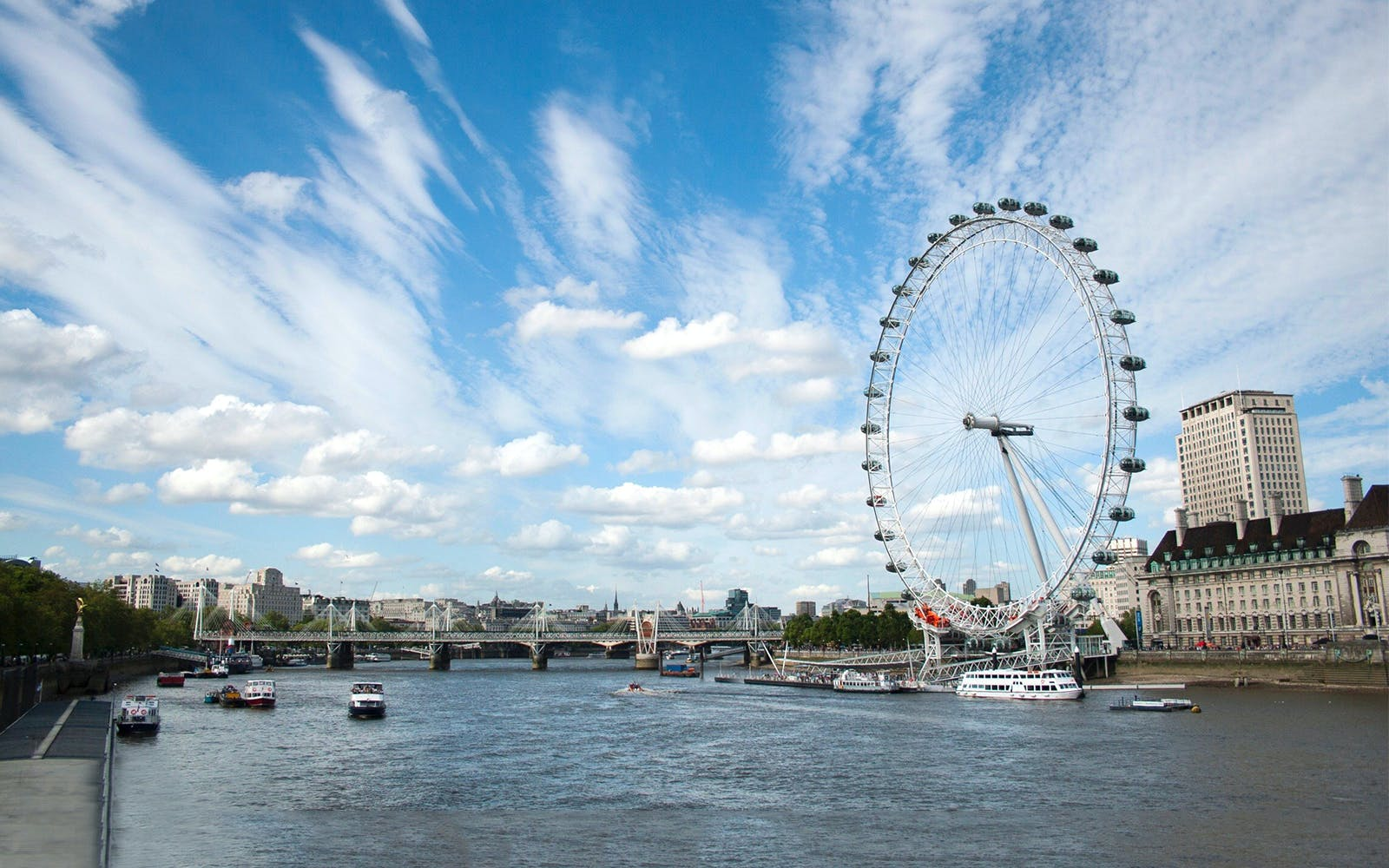 thames cruise and the london eye-1