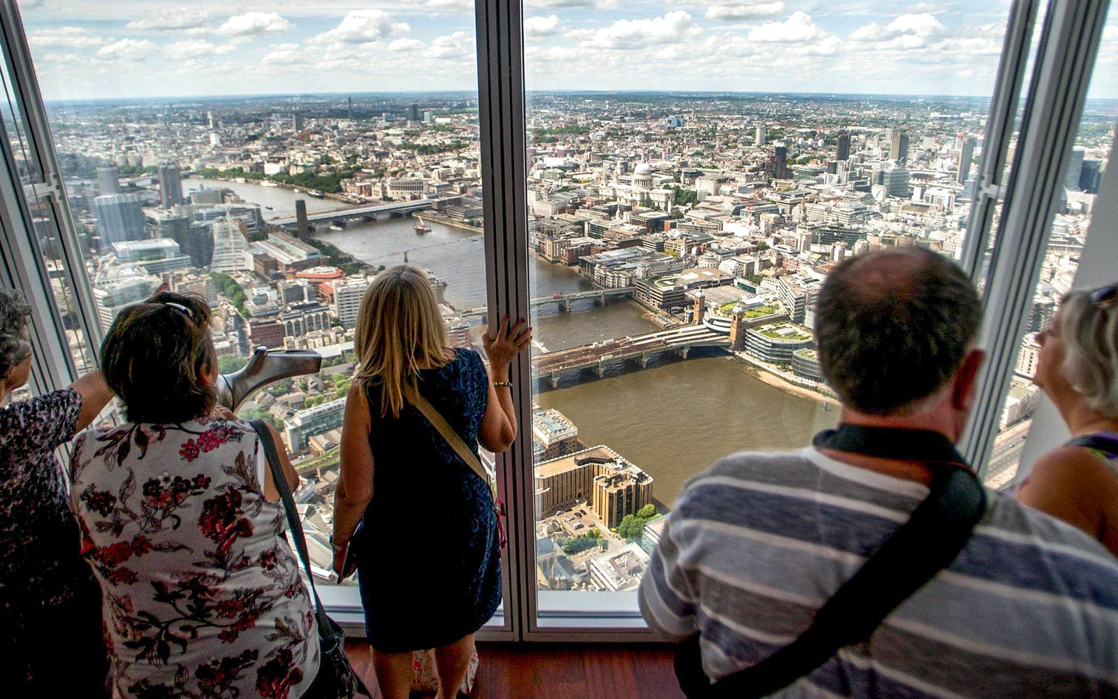 Thames Cruise and view from the shard