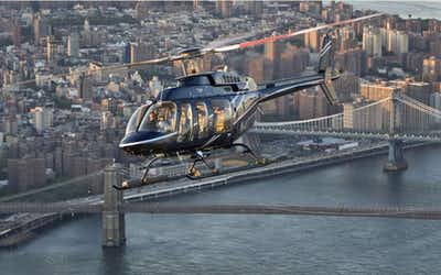 helicopter tours in New York City