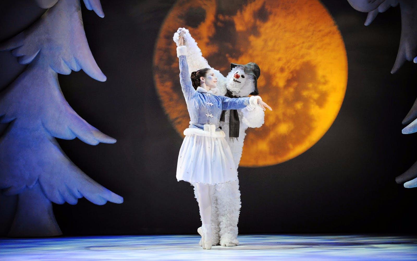 the snowman london