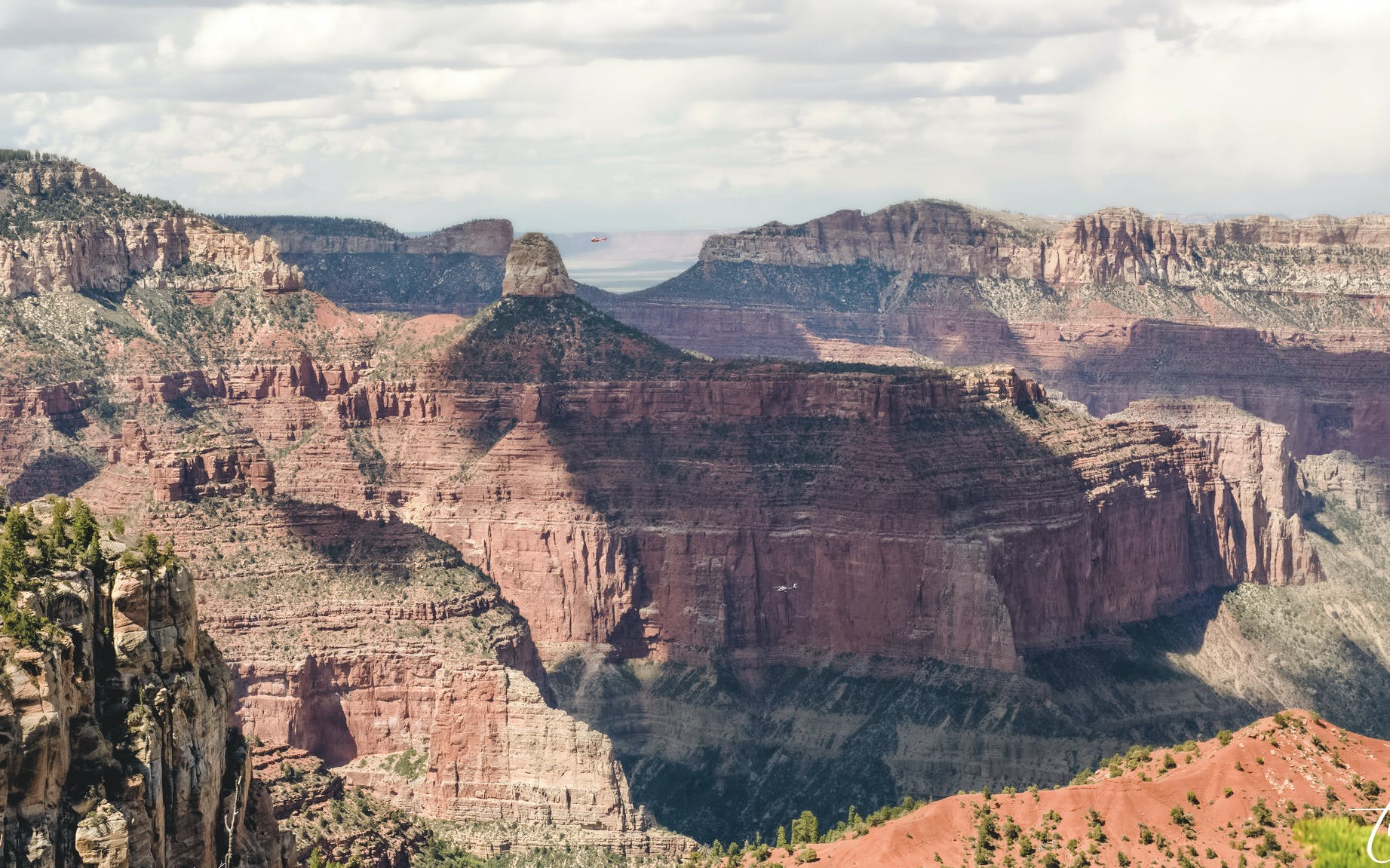 grand canyon north rim helicopter tour with optional jeep excursion (self-drive)-4