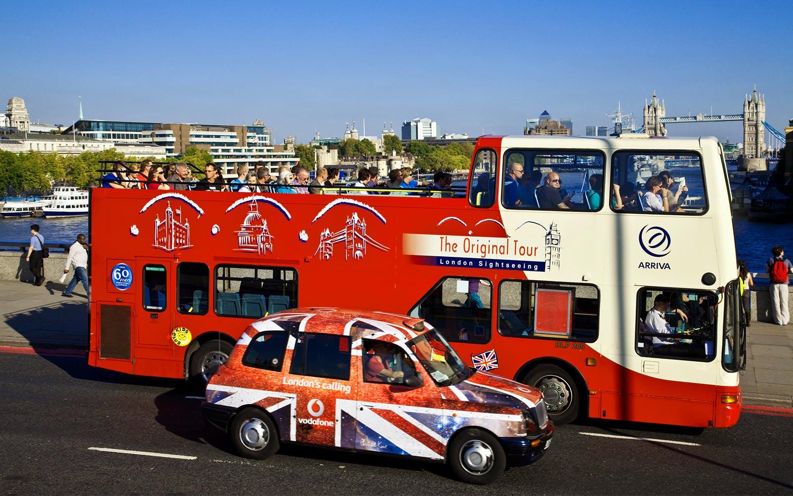 london hop on hop off bus tours - 4
