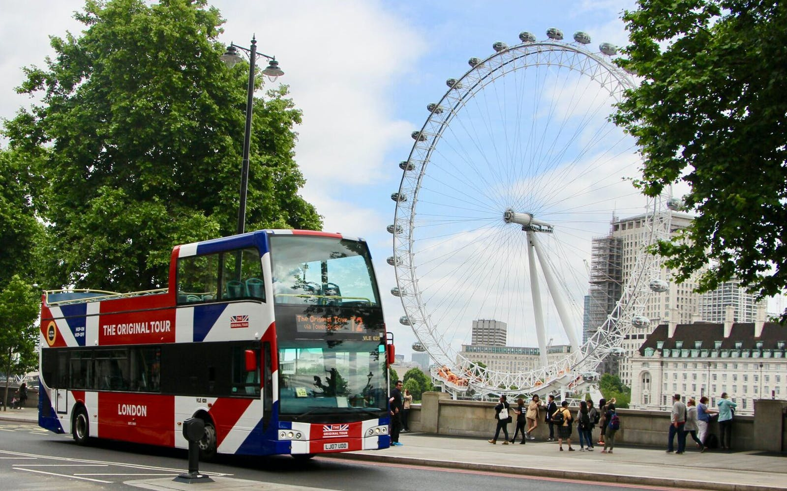 London Bus und Boot Hop-On Hop-Off Sightseeing Tour