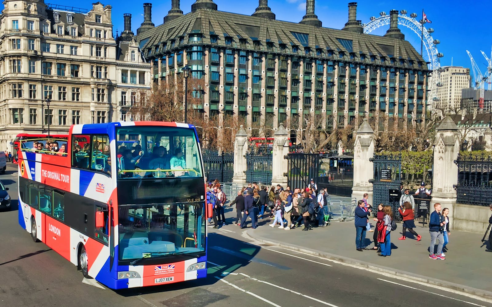 Londres Tour Bus y Barco Hop-On Hop-Off