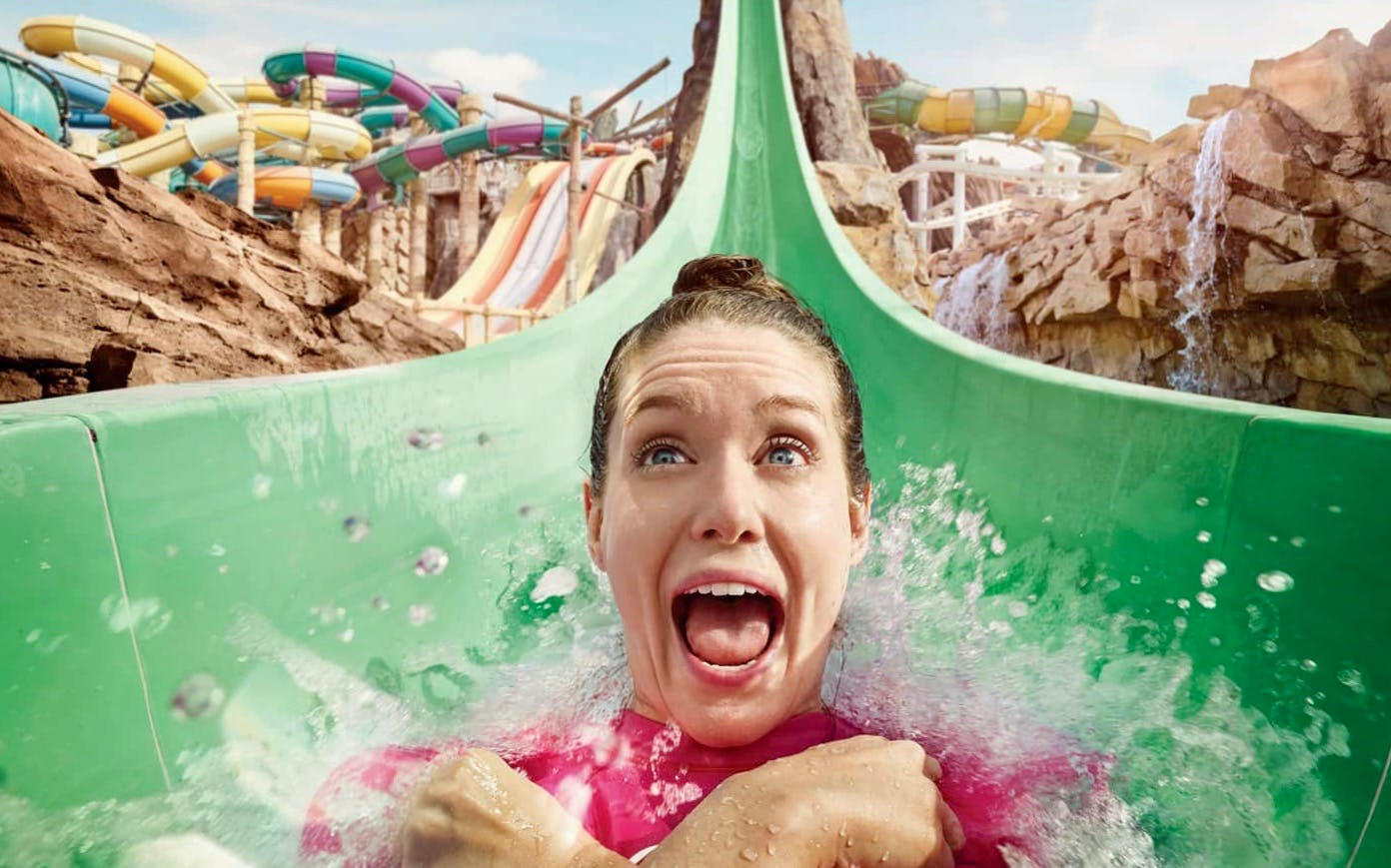 Yas Waterworld One Day Pass with Quick Pass
