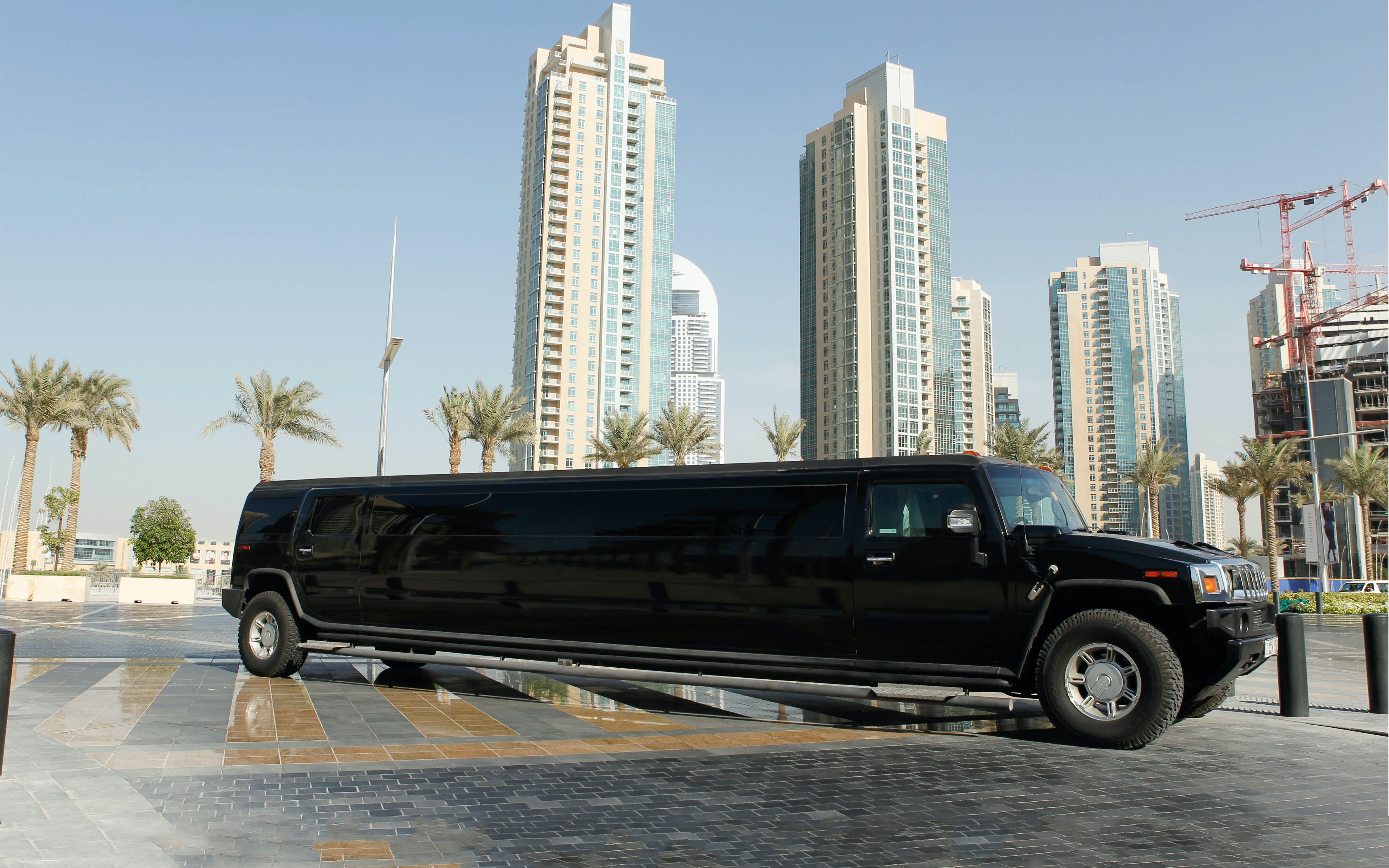 Hummer Limousine Ride