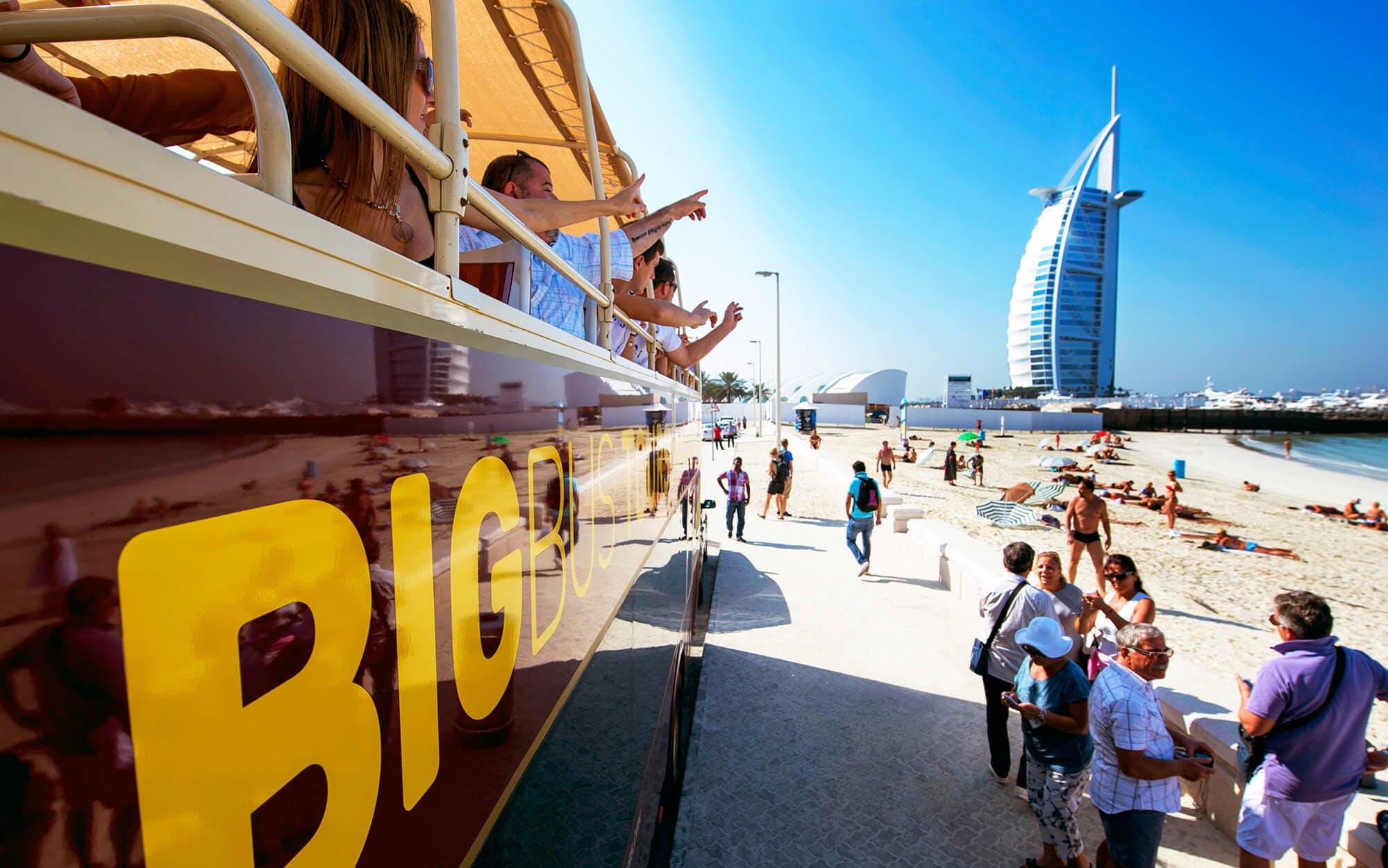 big bus dubai tour