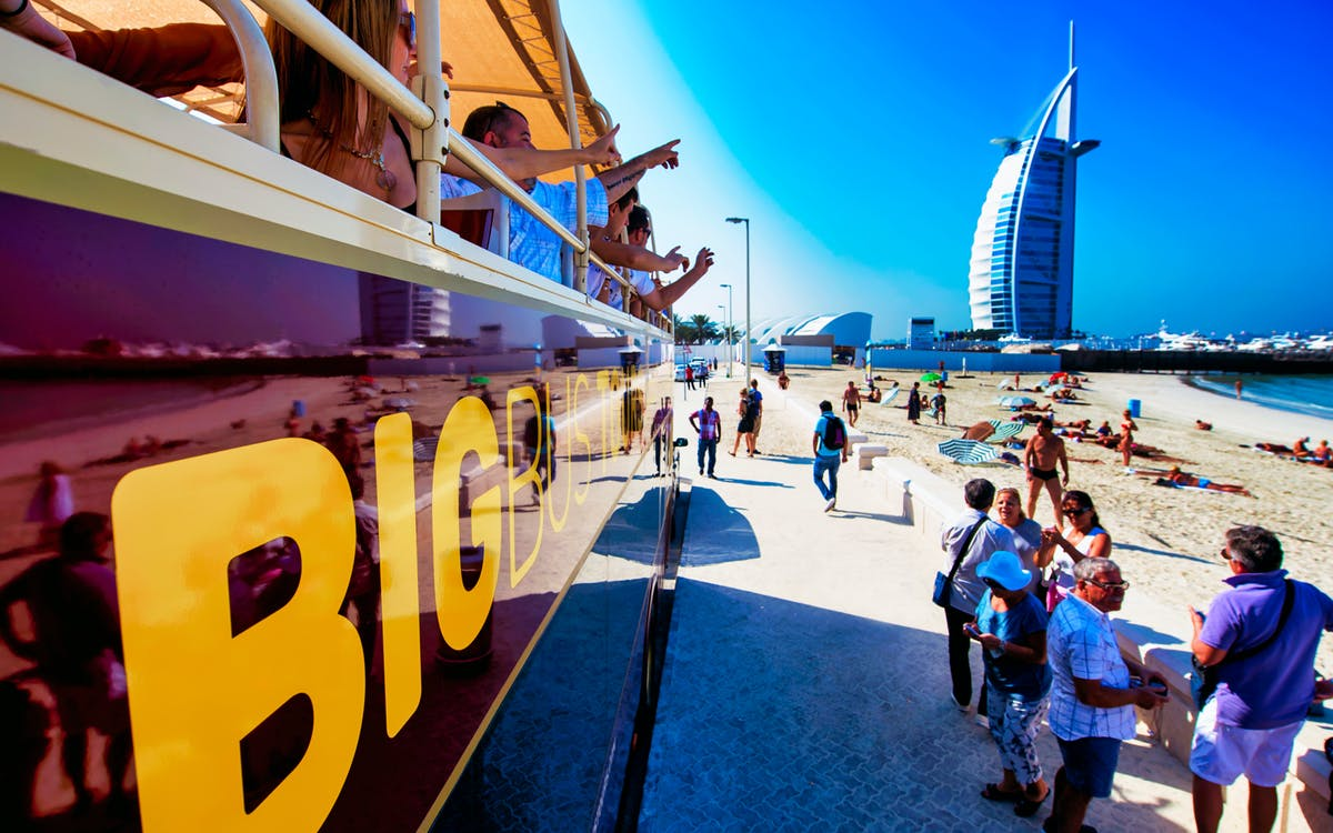 big bus dubai: 1/2/5 day hop-on-hop-off sightseeing bus tour-1