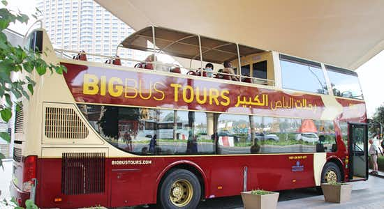dubai hop on hop off bus tours - 2