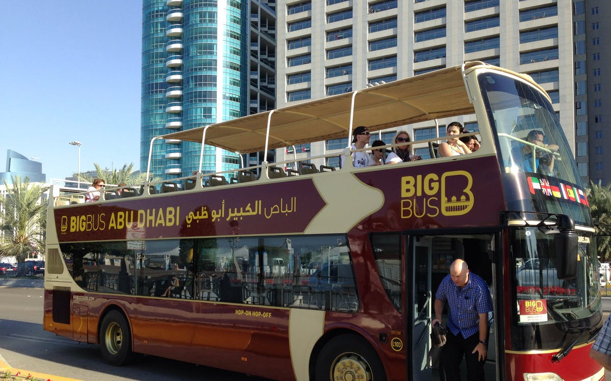 Abu Dhabi & Dubai Big Bus Hop-On Hop-Off Combo Dubai | Headout