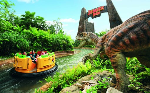 Universal Studios Singapore™ with Hotel Transfers