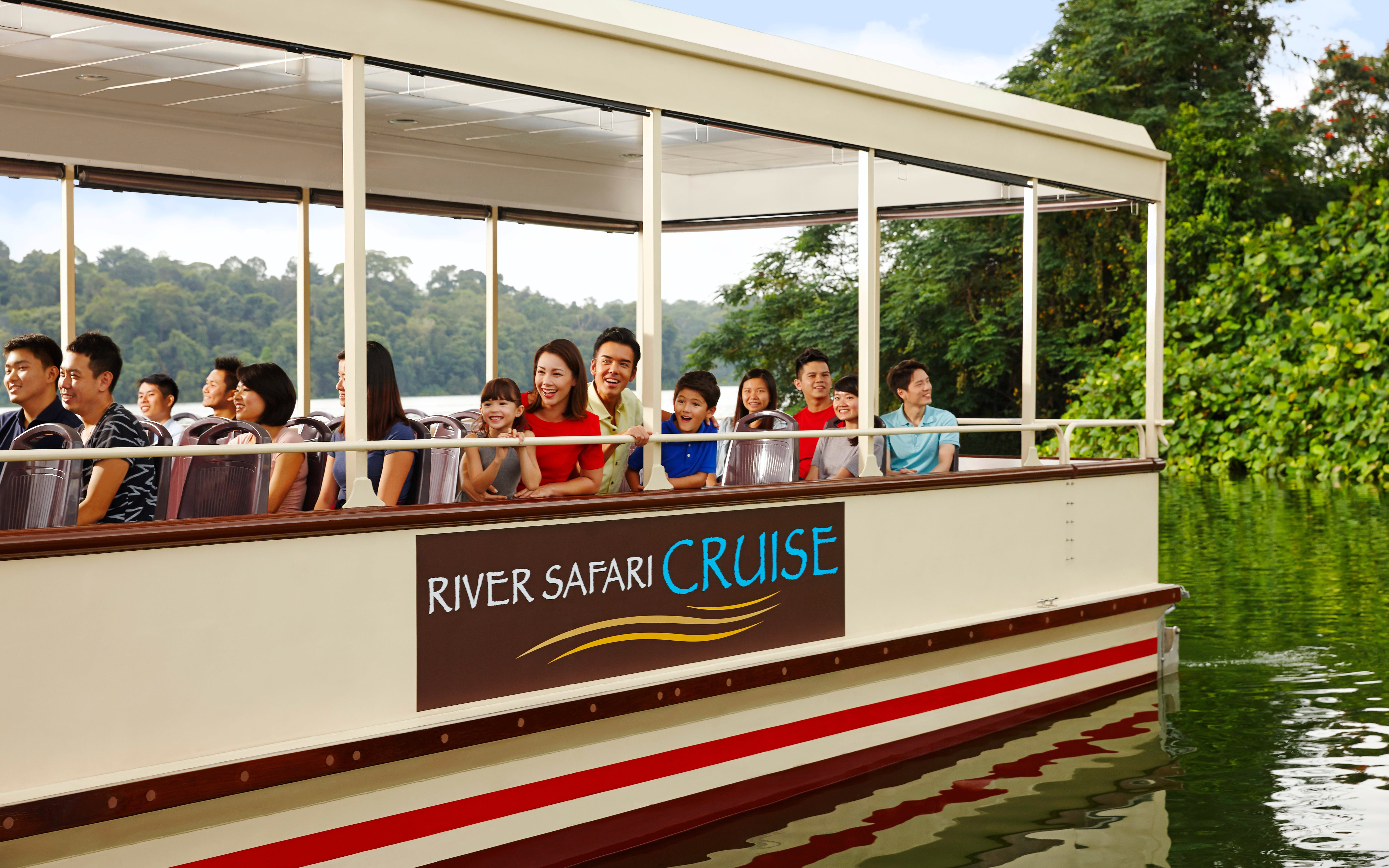 River Safari Tickets with 2 Boat Rides
