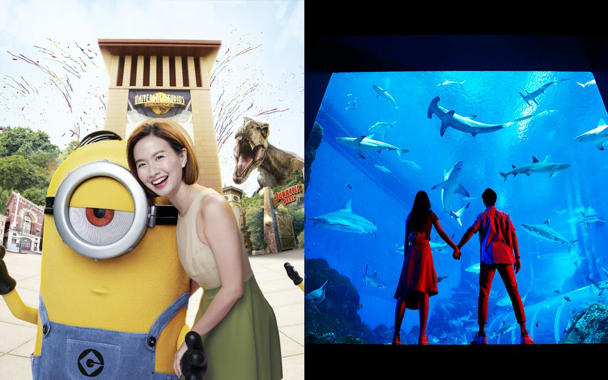 universal studio singapore + s.e.a. aquarium™ - 1 day ticket-1