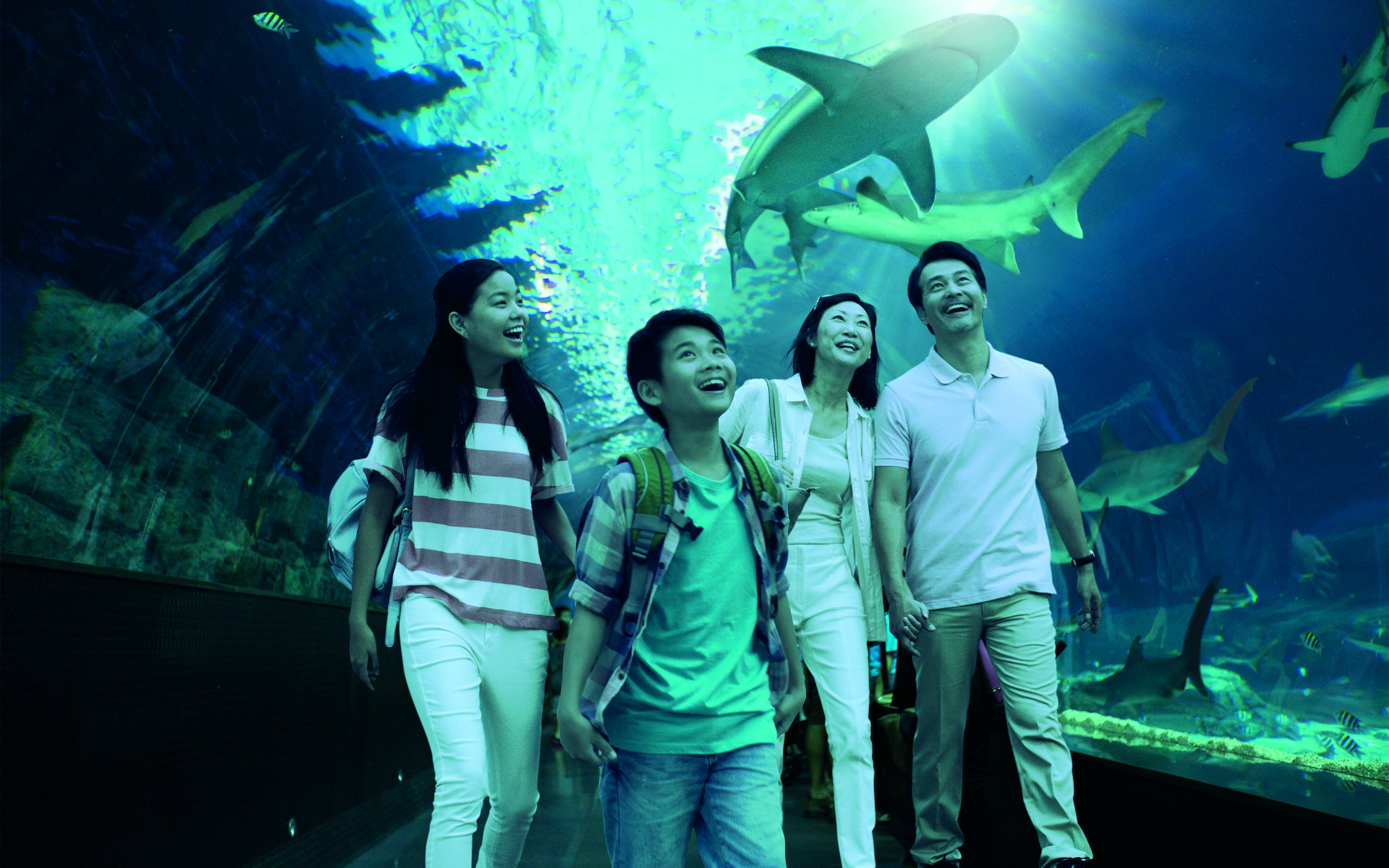 USS + Sea Aquarium tickets