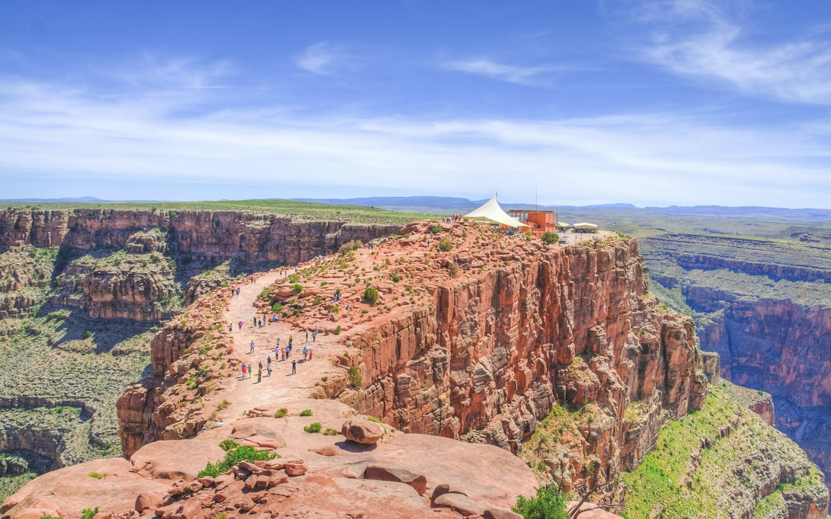 west rim helicopter tour with river cruise and optional skywalk (self-drive)-2