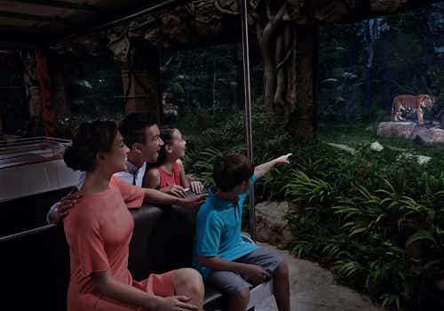 Singapore Night Safari Tickets with Tram Ride
