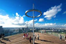 Sightseeing in Singapore - Marina Bay Sands Sky Park - 2