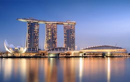 marina bay sands skypark - 5 day singapore itinerary