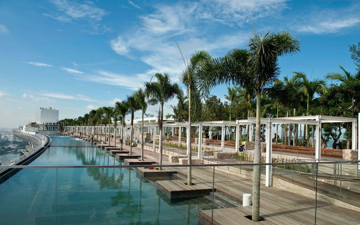 marina bay sands skypark singapore