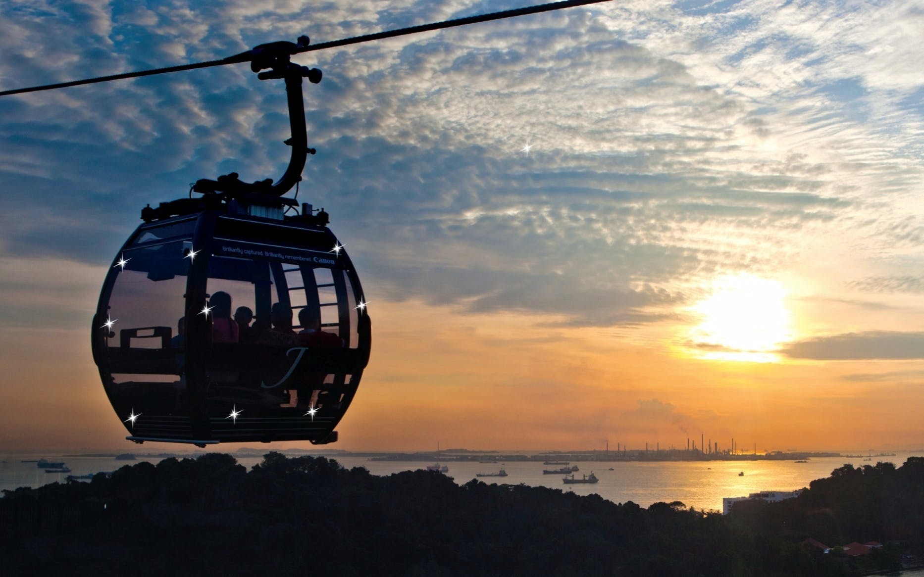 singapore cable car sky pass round tickets