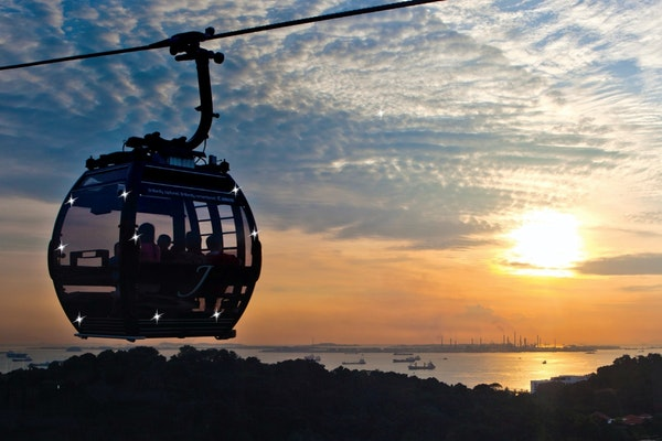 Singapore Cable Car reopened post covid-19