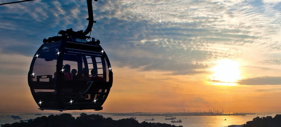 Singapore Cable Car Sky Pass: Round Trip