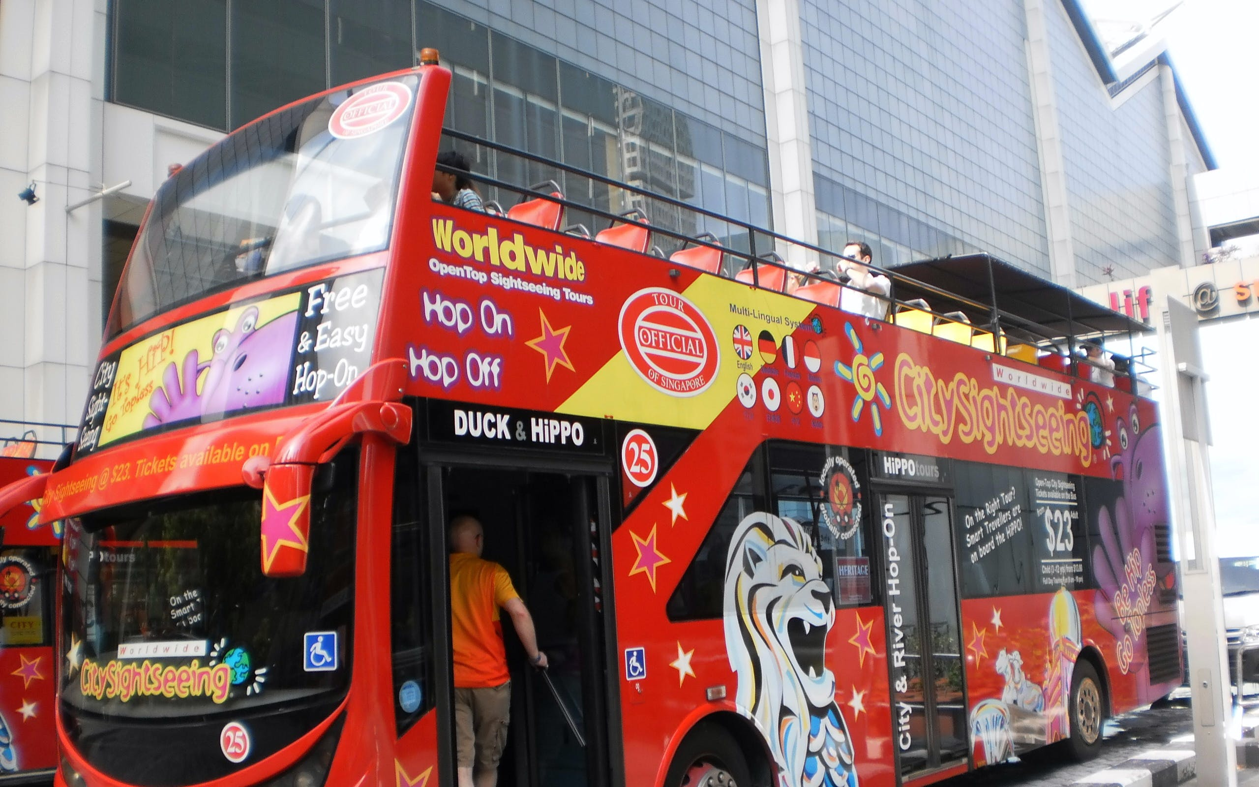 Hop-On Hop-Off Singapore Sightseeing Bus - 3