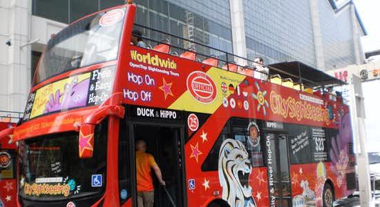 singapore hop on hop off - duck tours
