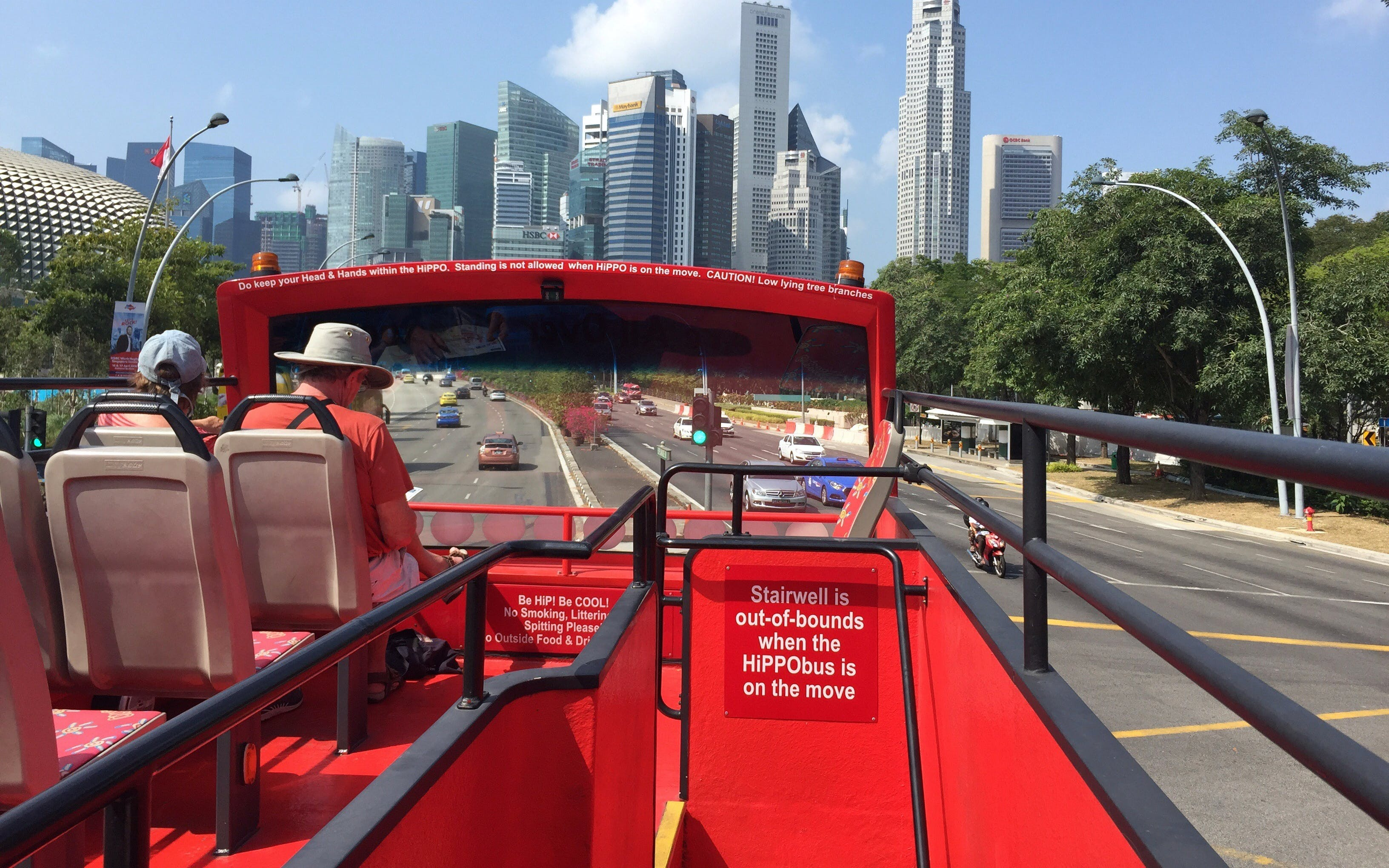 Hop-On Hop-Off Singapore Sightseeing Bus - 2