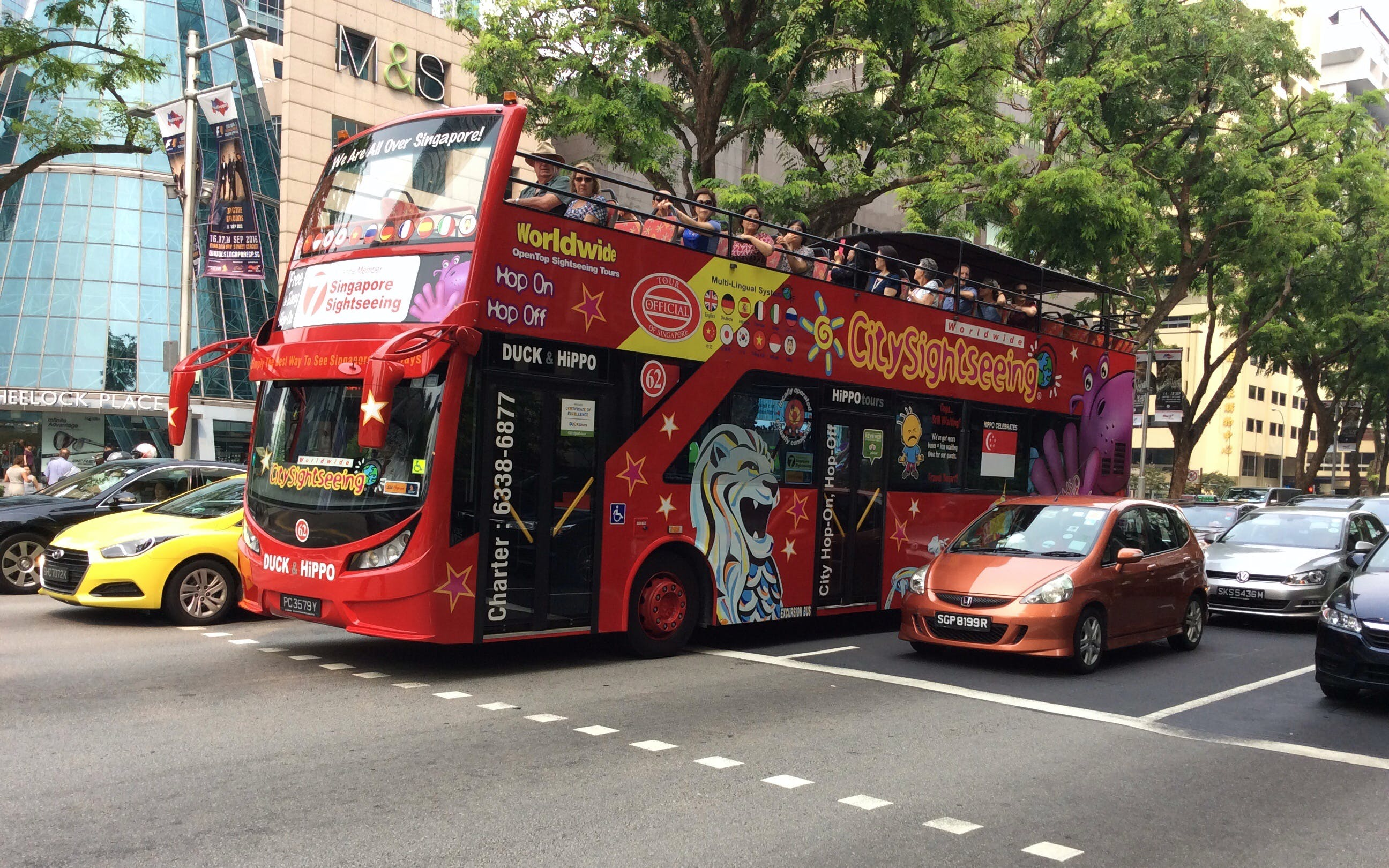 Hop-On Hop-Off Singapore Sightseeing Bus - 1