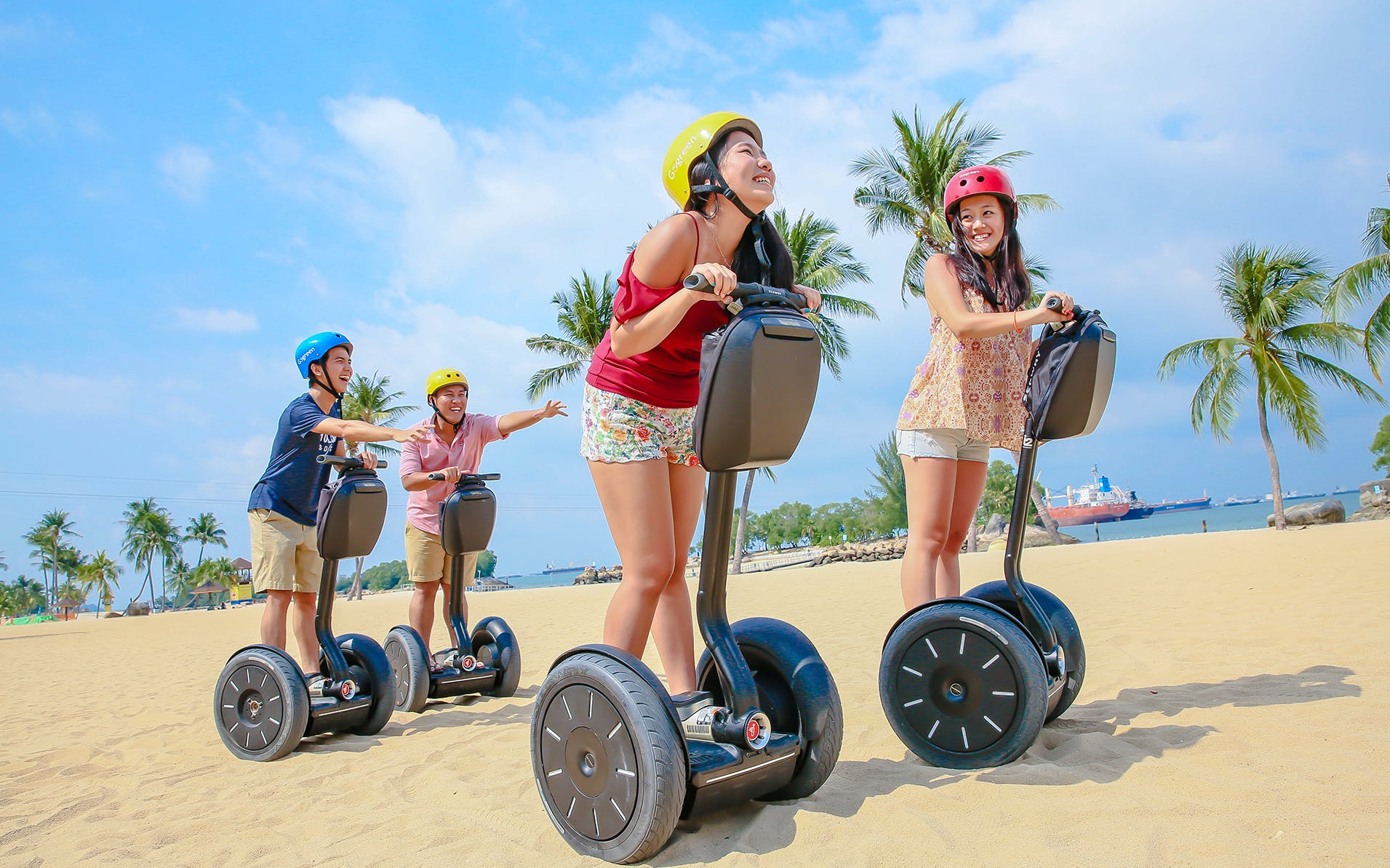 go green segway fun ride tour of sentosa-2