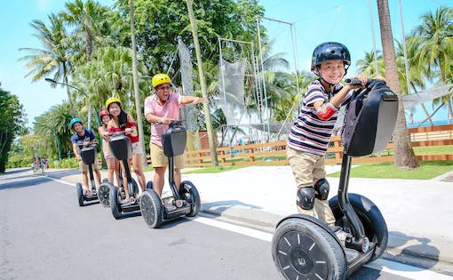 Go Green Segway Fun Ride Tour of Sentosa