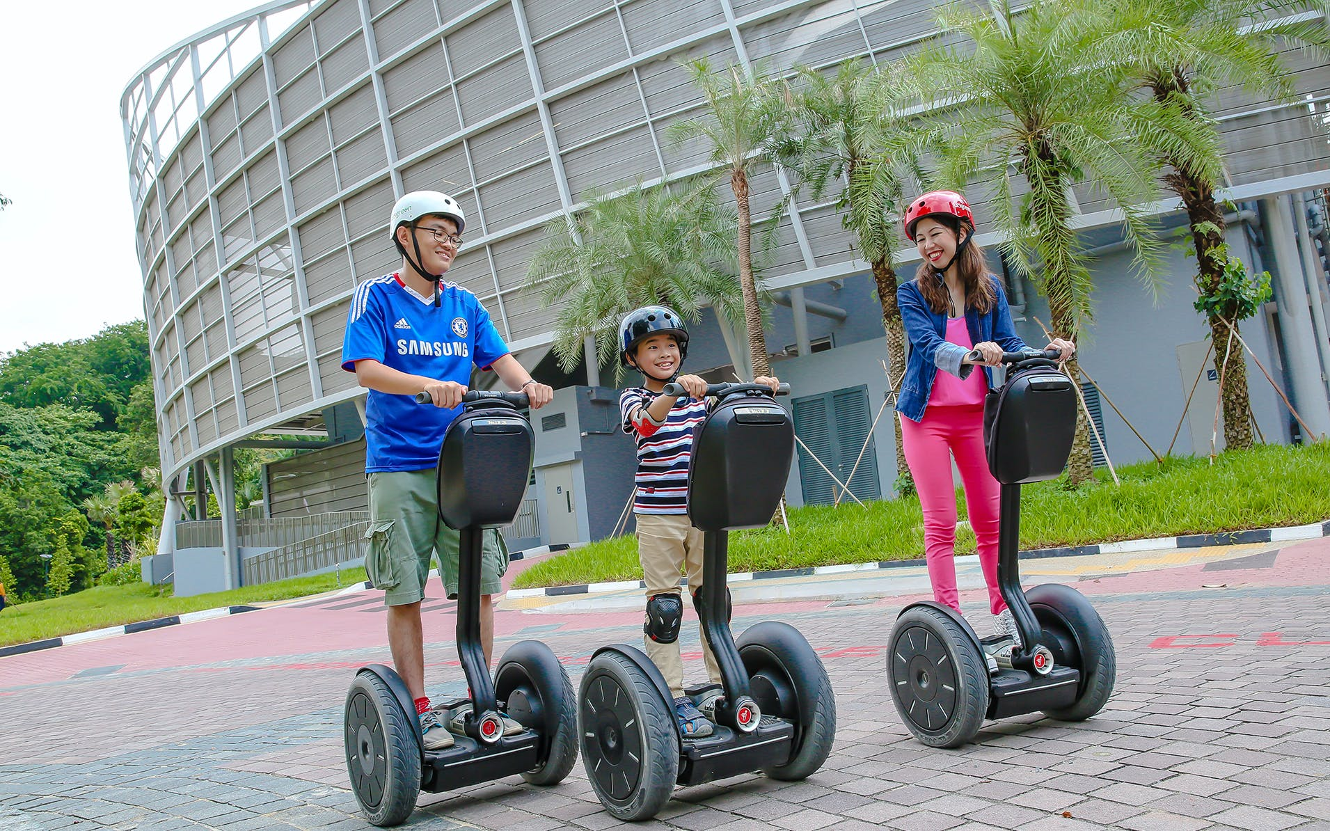 Singapore in April - Segway Ride